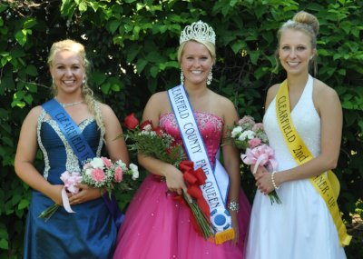 2013 Clearfield County Fair Queen Court