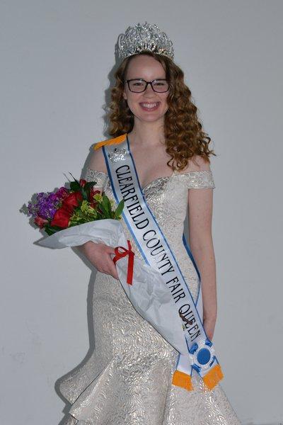 2020 Clearfield County Fair Queen