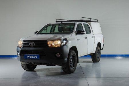 Toyota Hilux Diésel 2.4 D-4D Cabina Doble GX