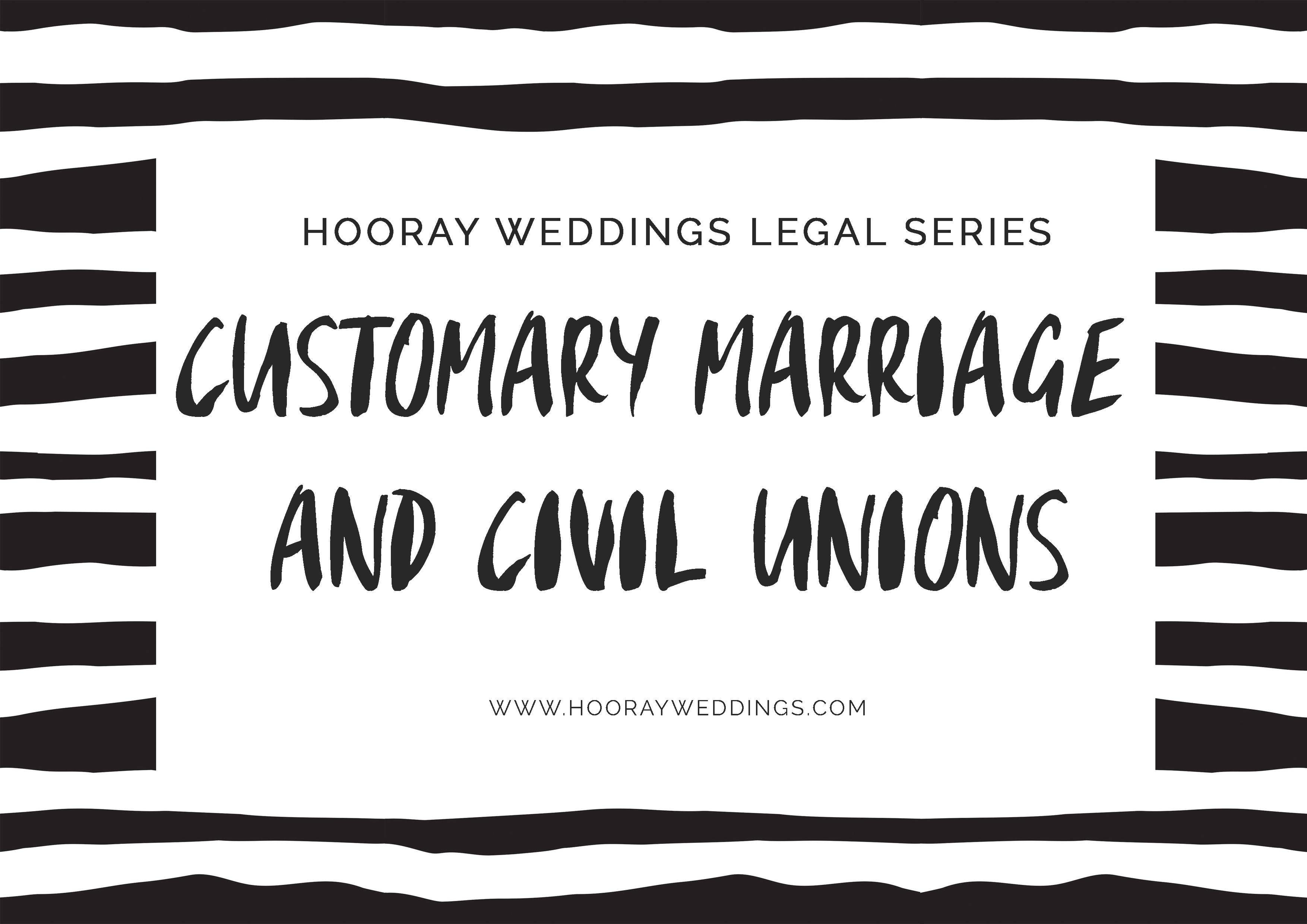 Learn about customary marriages and South Africa's version of gay marriage with Hooray Weddings