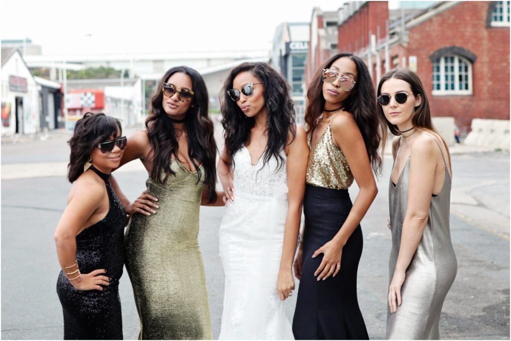 Hooray Weddings Blog | High-fashion Urban Wedding