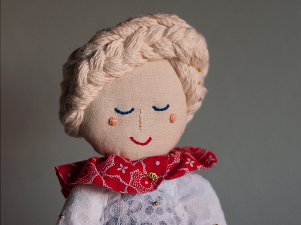 Hooray Weddings - Bespoke Dolls - Stella