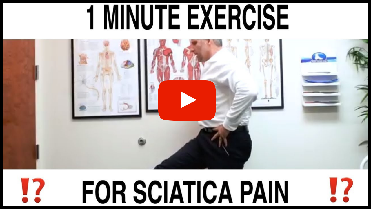 1 Minute Exercises for Sciatica Pain Relief