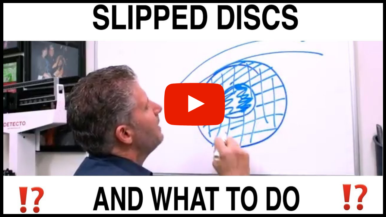 Slipped Disc Symptoms & What To Do About It