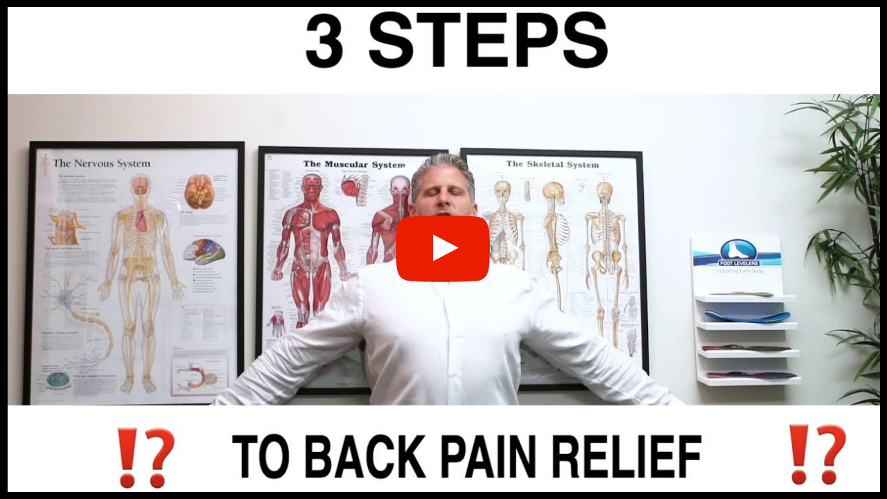 Steps To Back Pain Relief