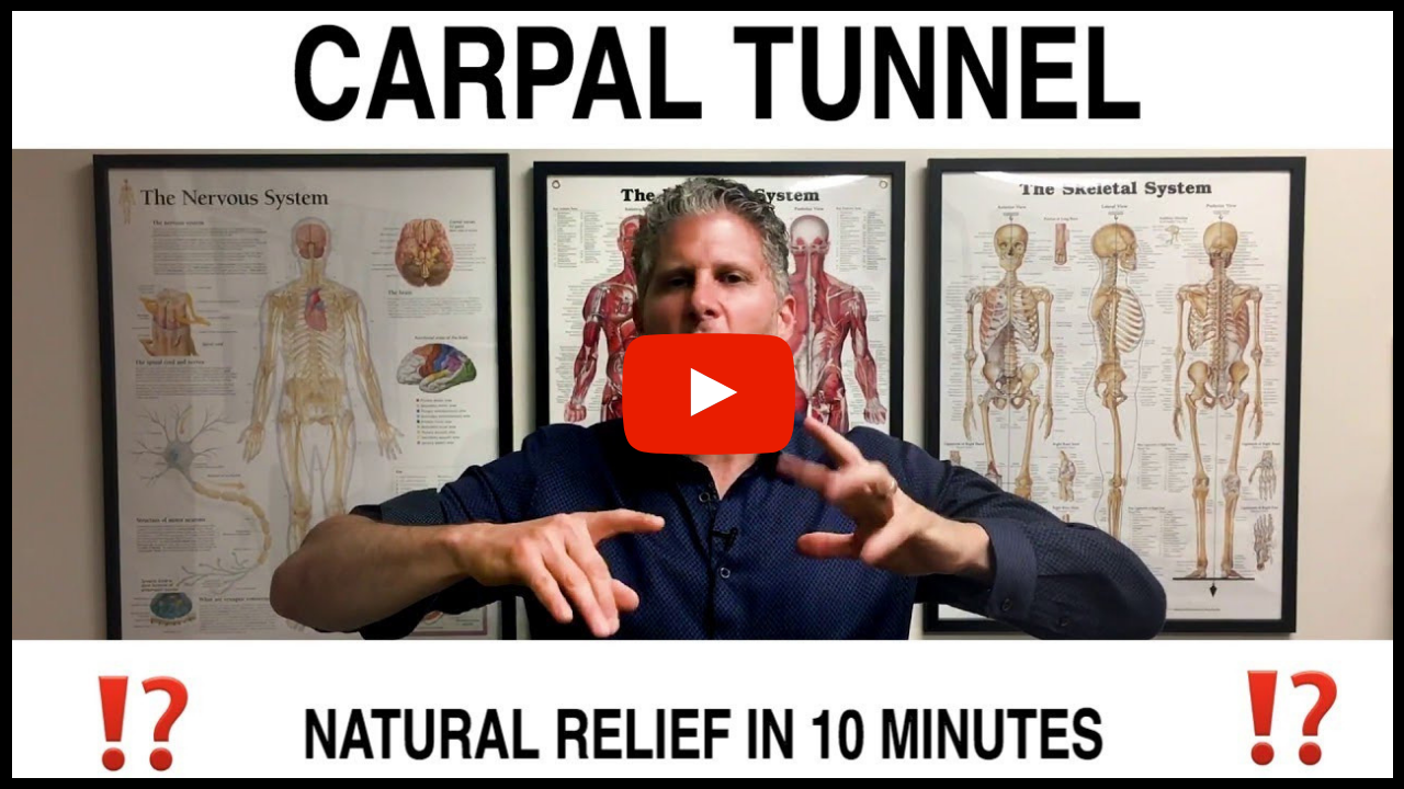 Natural Carpal Tunnel Relief In 10 Minutes