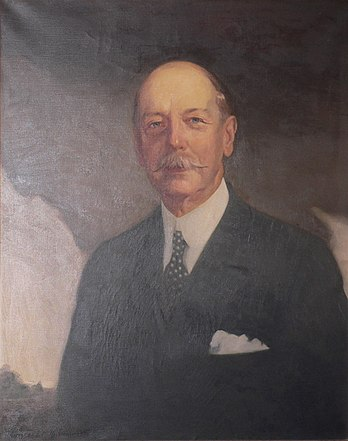 Frederick W. Vanderbilt (1856-1938) Painted by Raymond Neilson