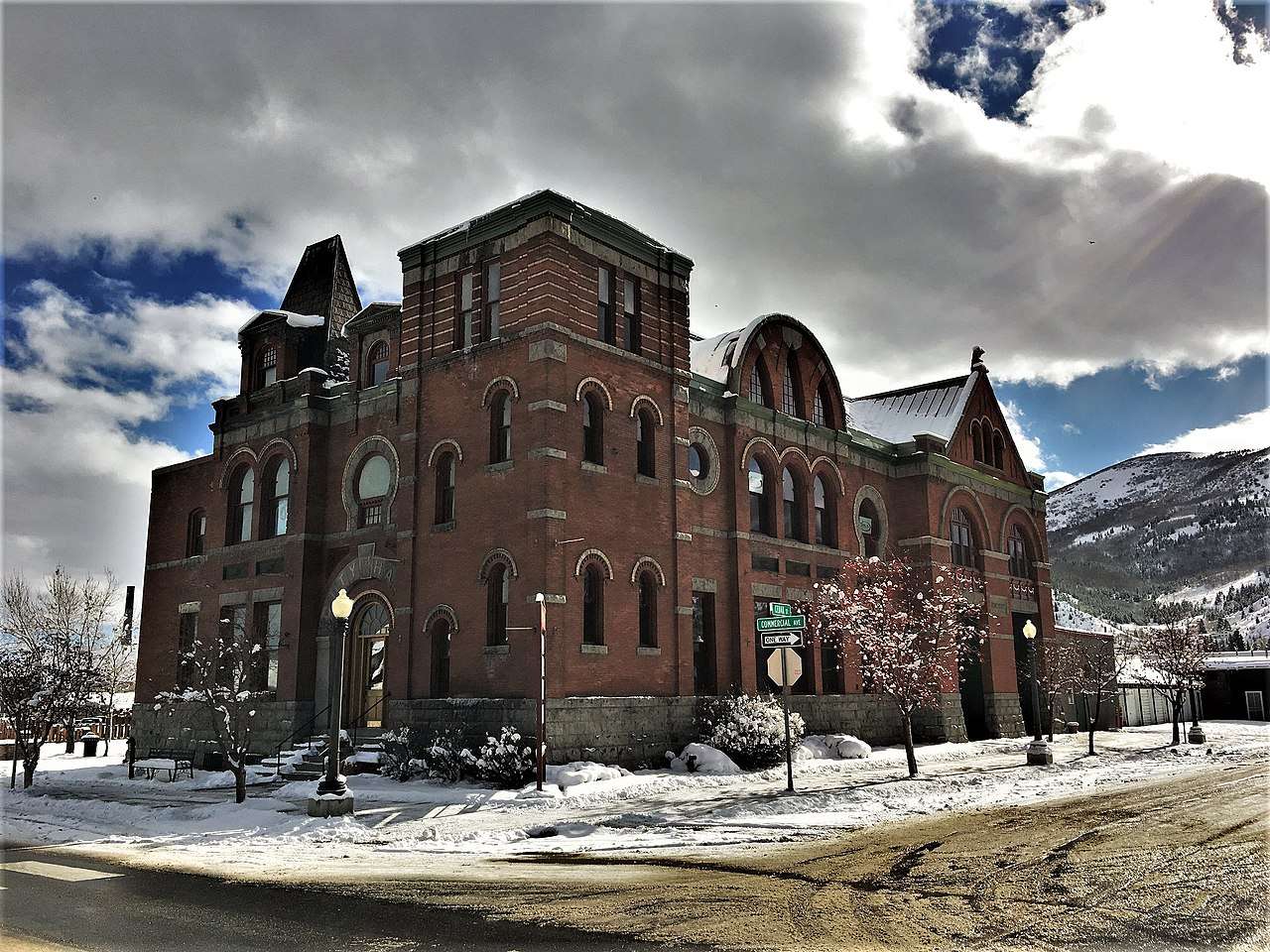 The old City Hall building was erected in 1896 and is the current home of the Copper Village Museum & Art Center.