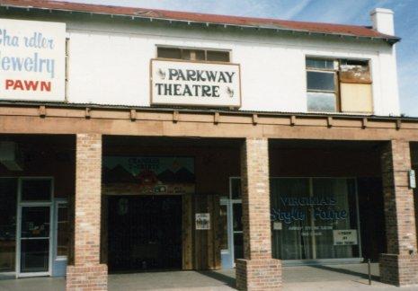 Monroe Building/Parkway Theatre, 1975