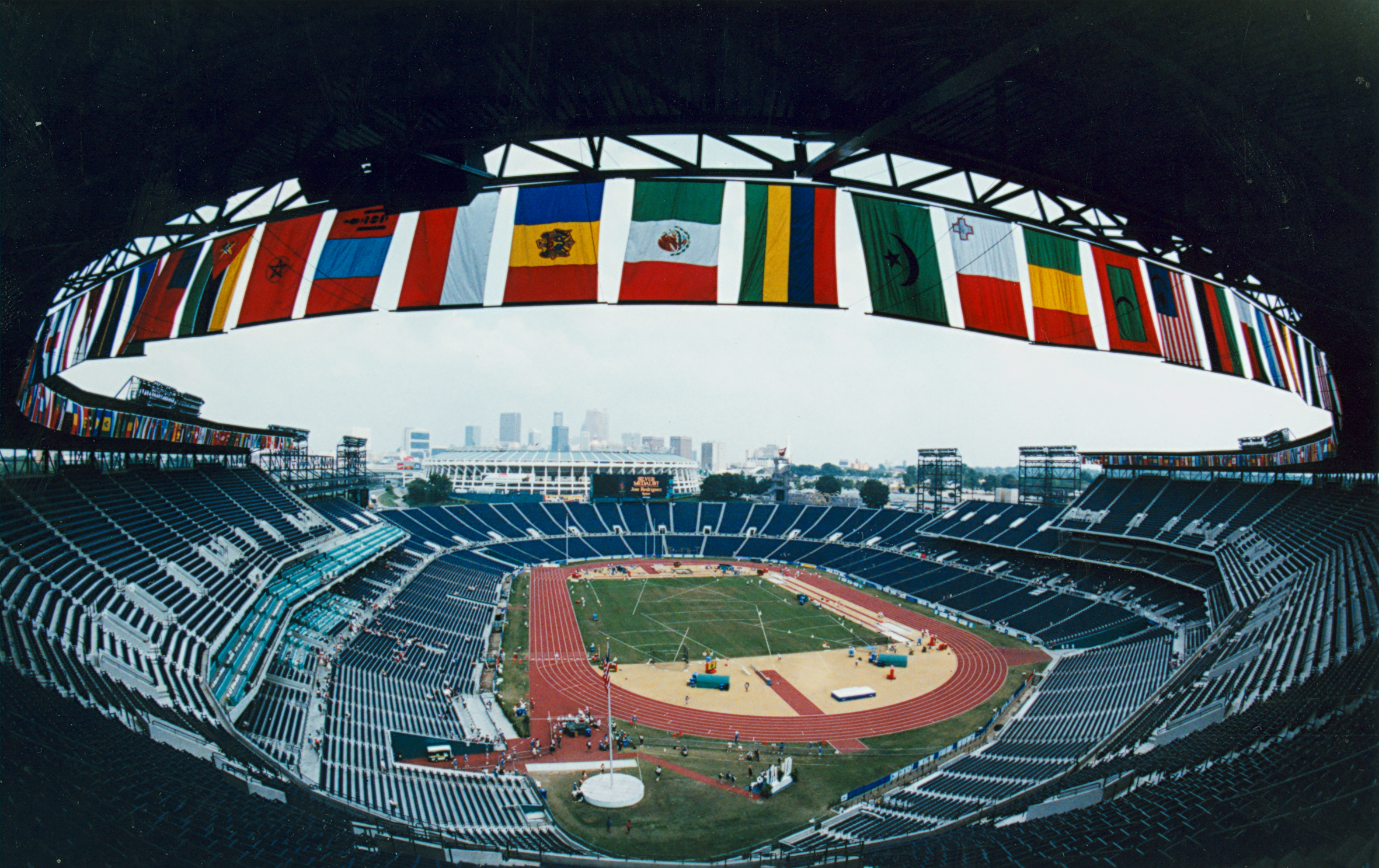 A picture of the Centennial Olympic Stadium
