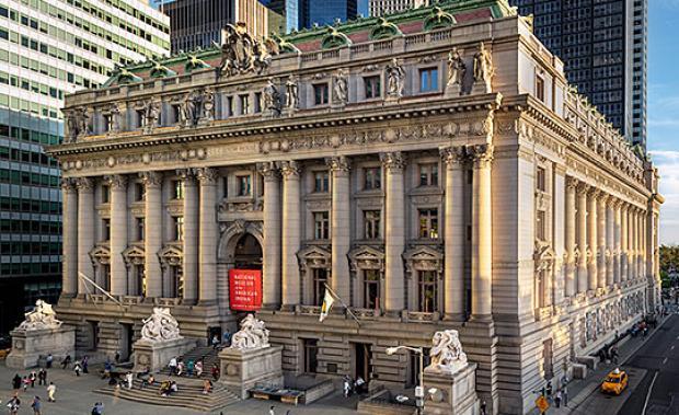 The Alexander Hamilton U.S. Customs House, which houses the Heye Center.