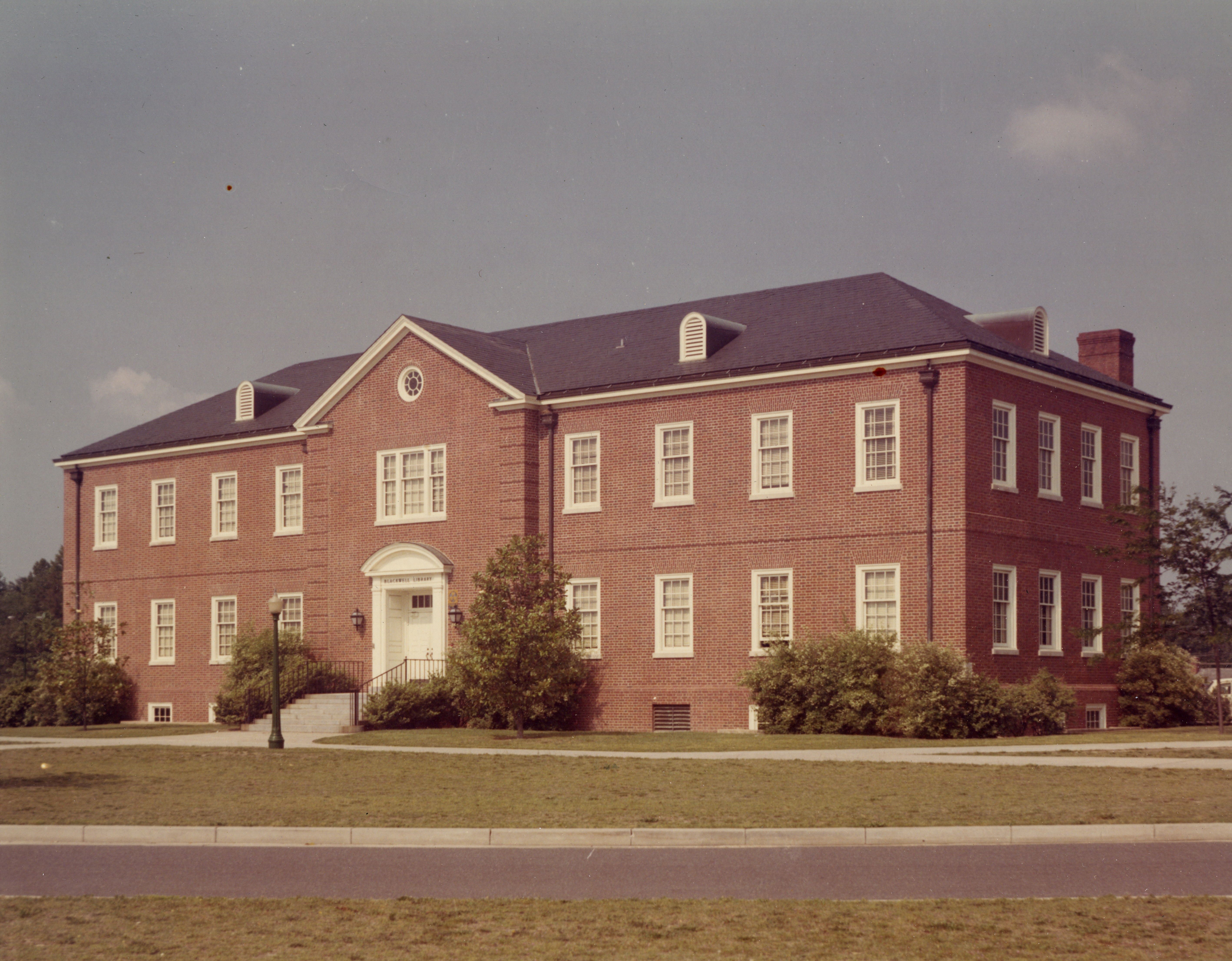 Original Blackwell Library, before 1969