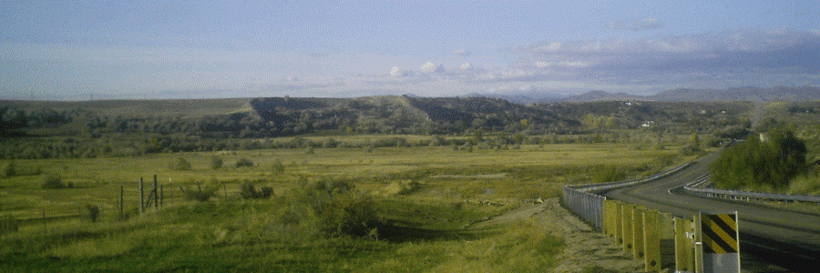 The location of the Bear River Massacre