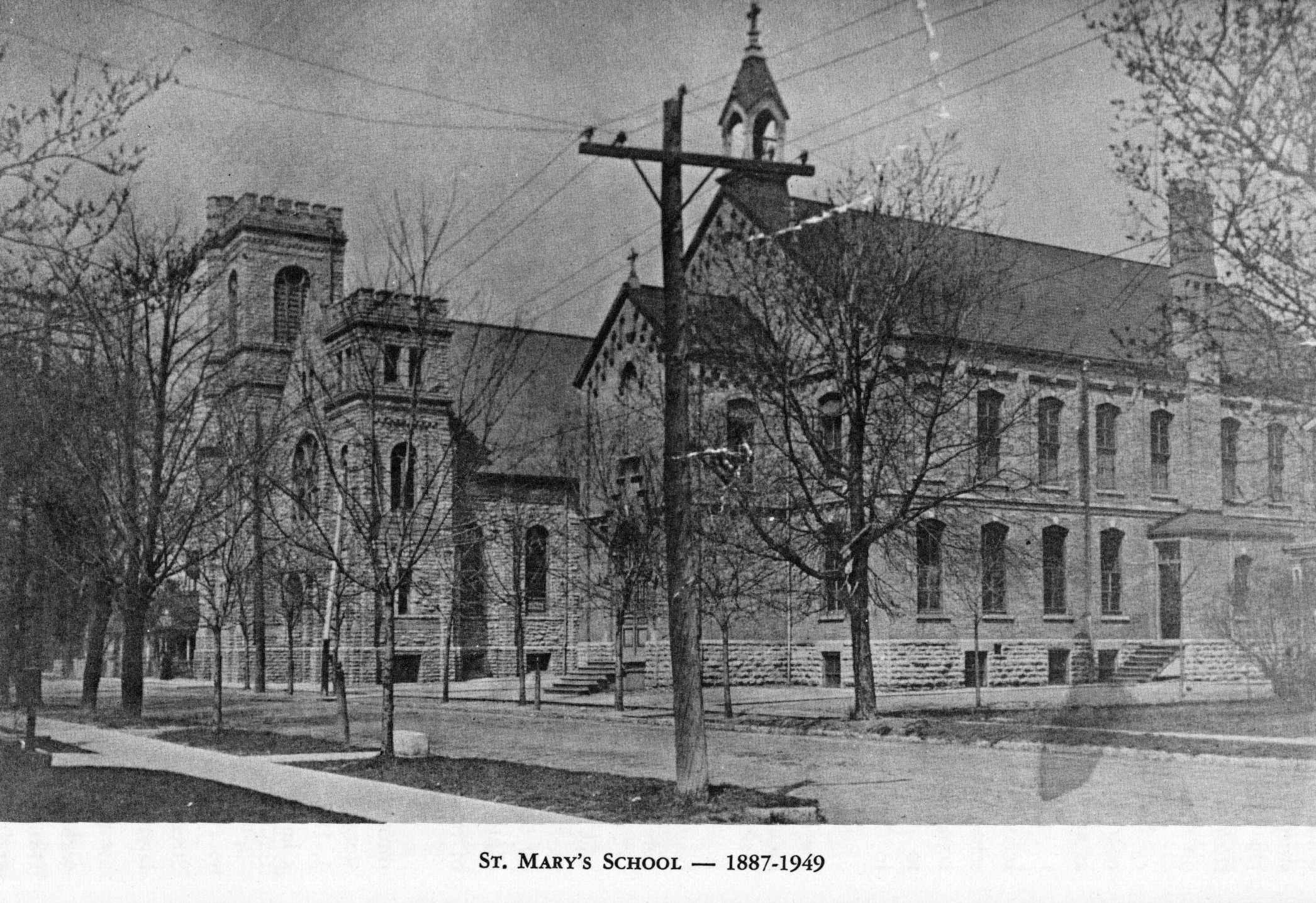 St. Mary's School, 1887-1949.