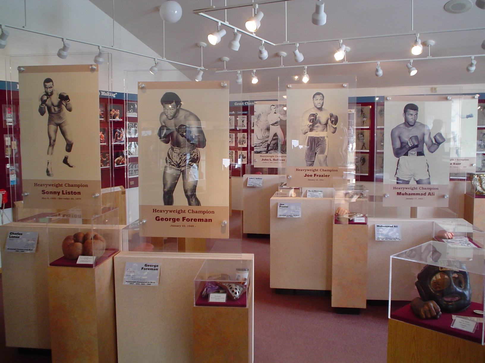 Exhibits of IBHOF Inductee's