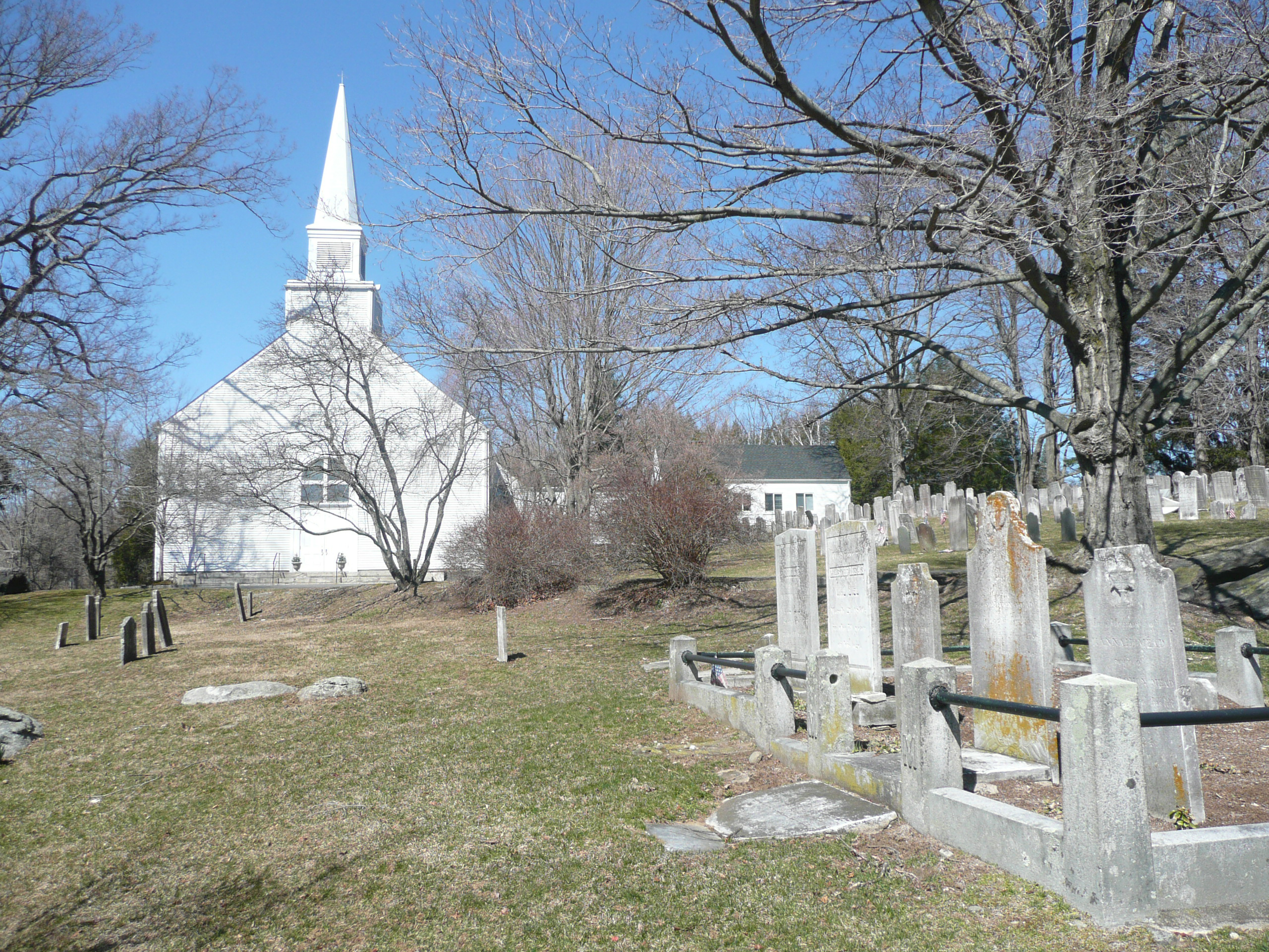 South Salem Presbyterian Church Cemetery.