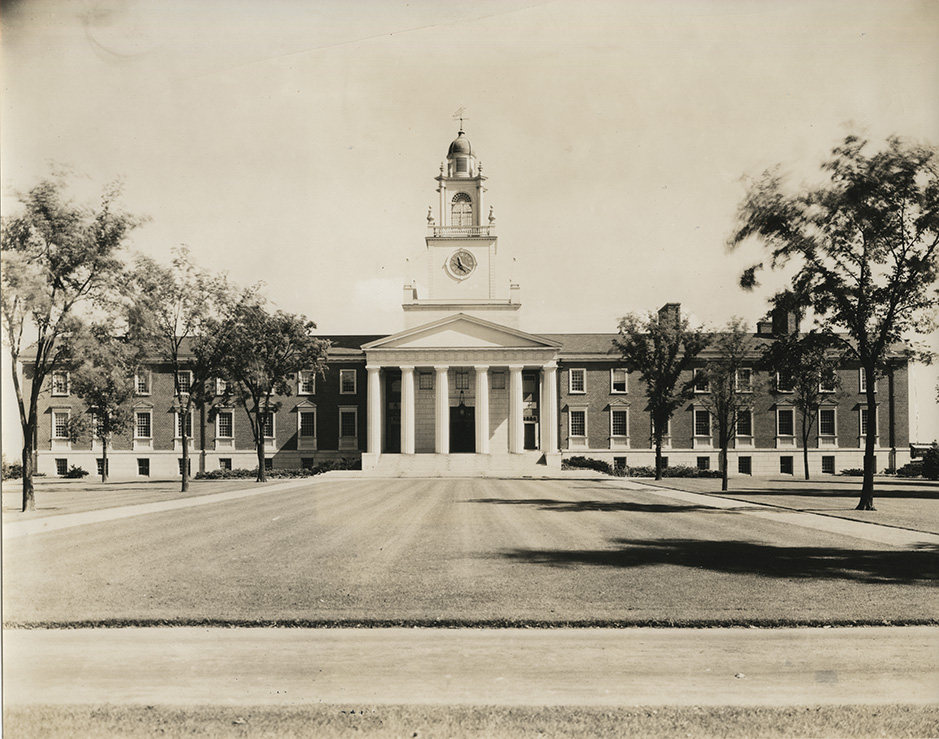 Samuel Phillips Hall, 1933