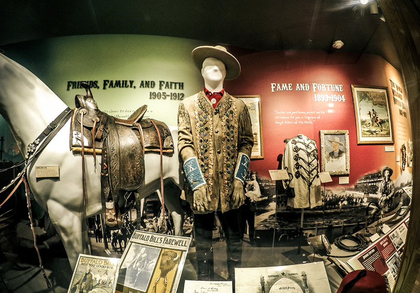 Buffalo Bill's actual performance costume