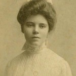 Photograph of Alice Paul, 1901.