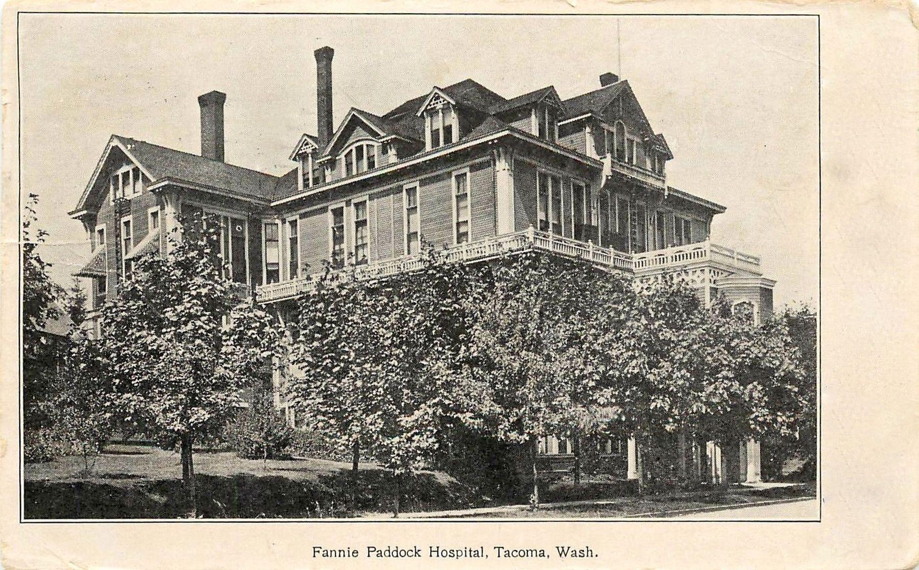 Fannie Paddock Hospital, Tacoma, Washington.