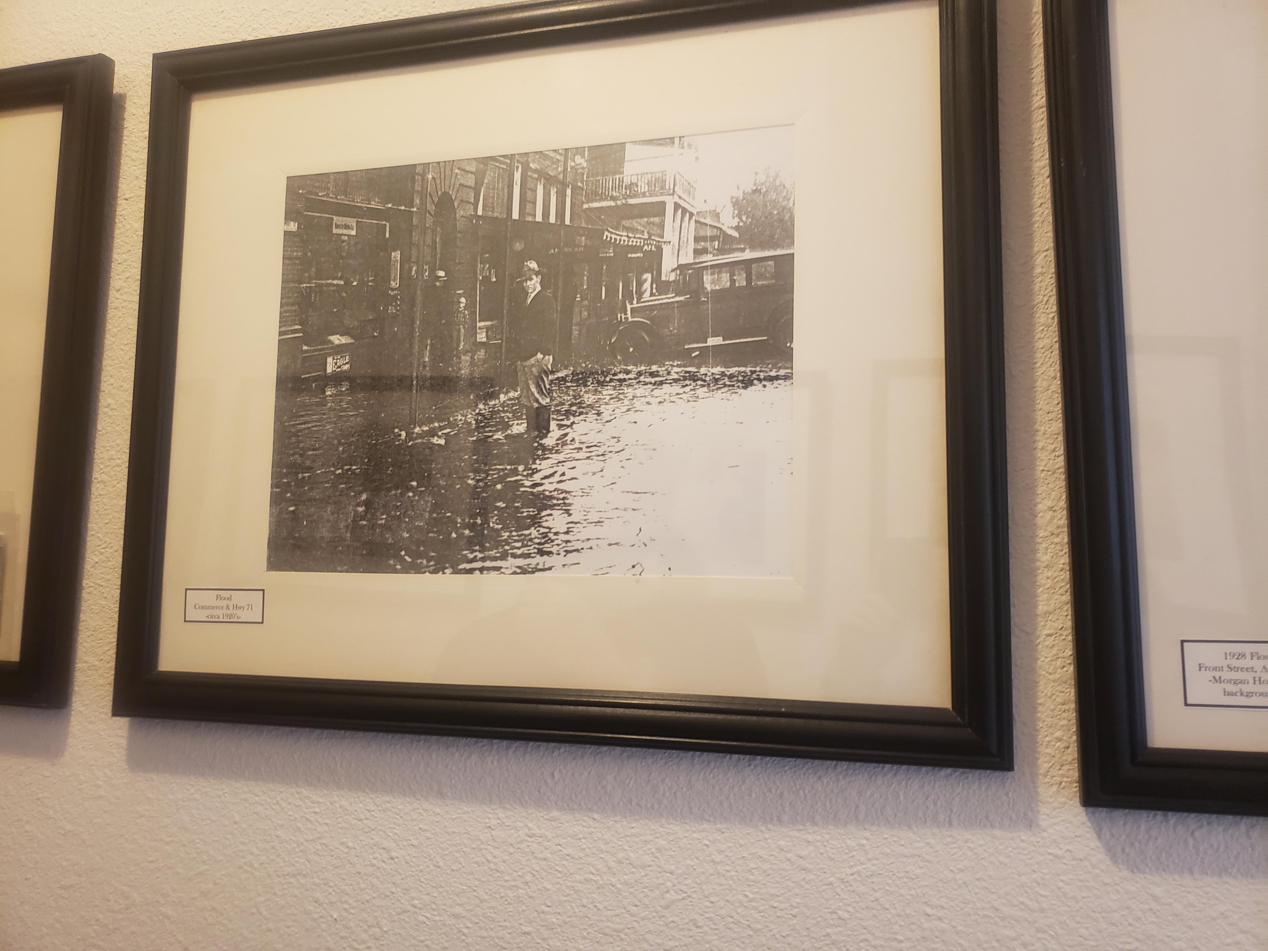 Flood Commerce & Hwy 71 -circa 1920s-