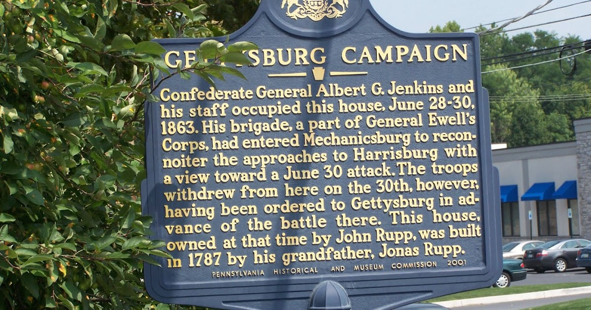 PHMC Marker outside the Rupp House