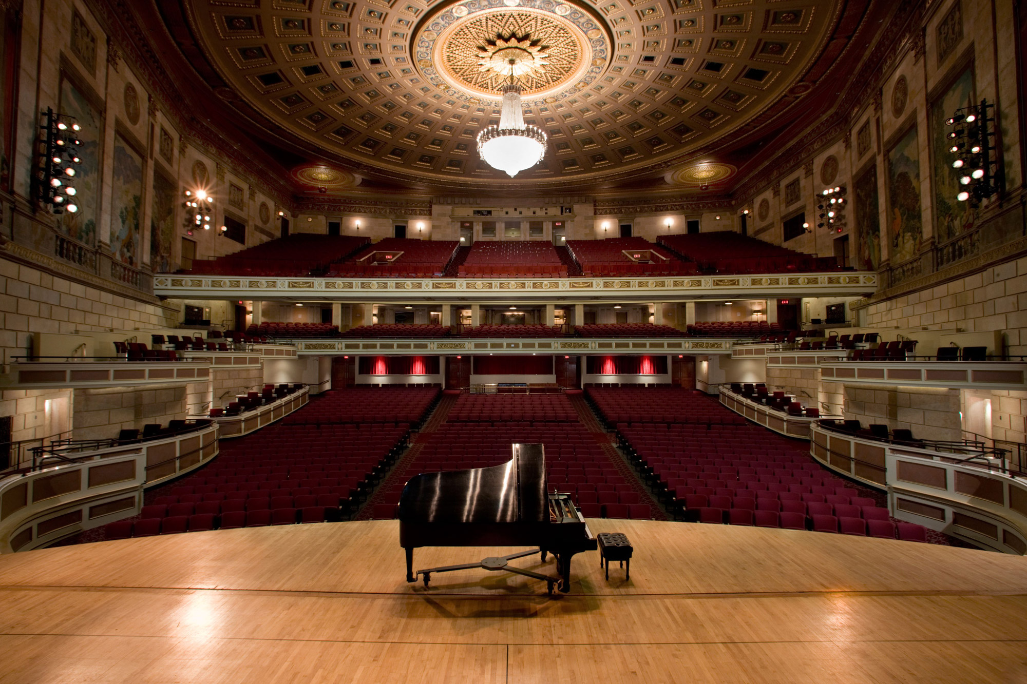 Kodak Hall at Eastman Theatre's view from the stage