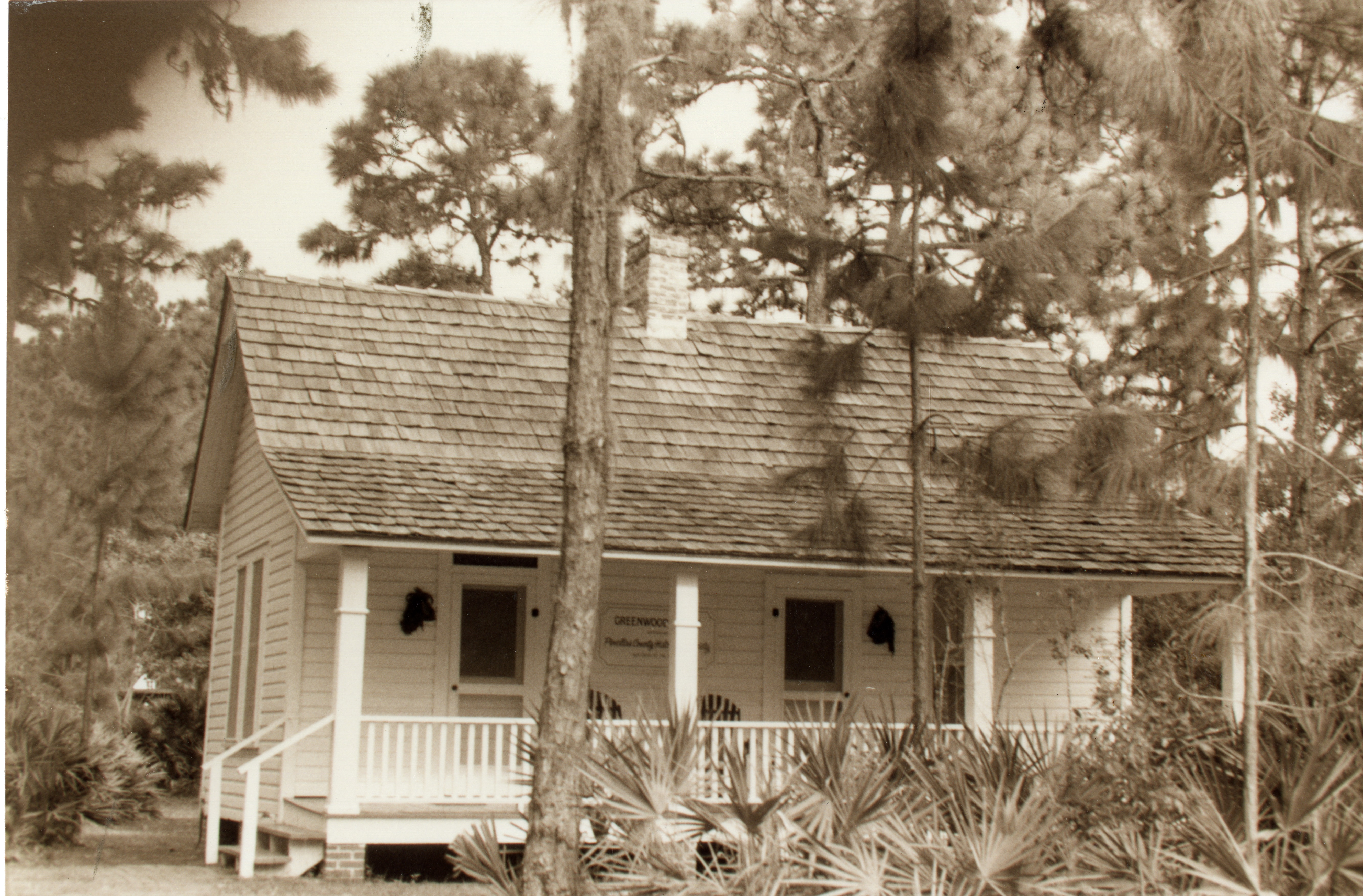 Greenwood House at Heritage Village, Largo, Florida, circa 1987.