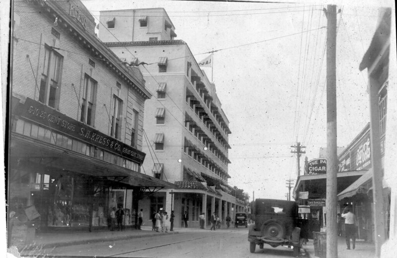 Hotel La Concha at 430 Duval Street in 1930.