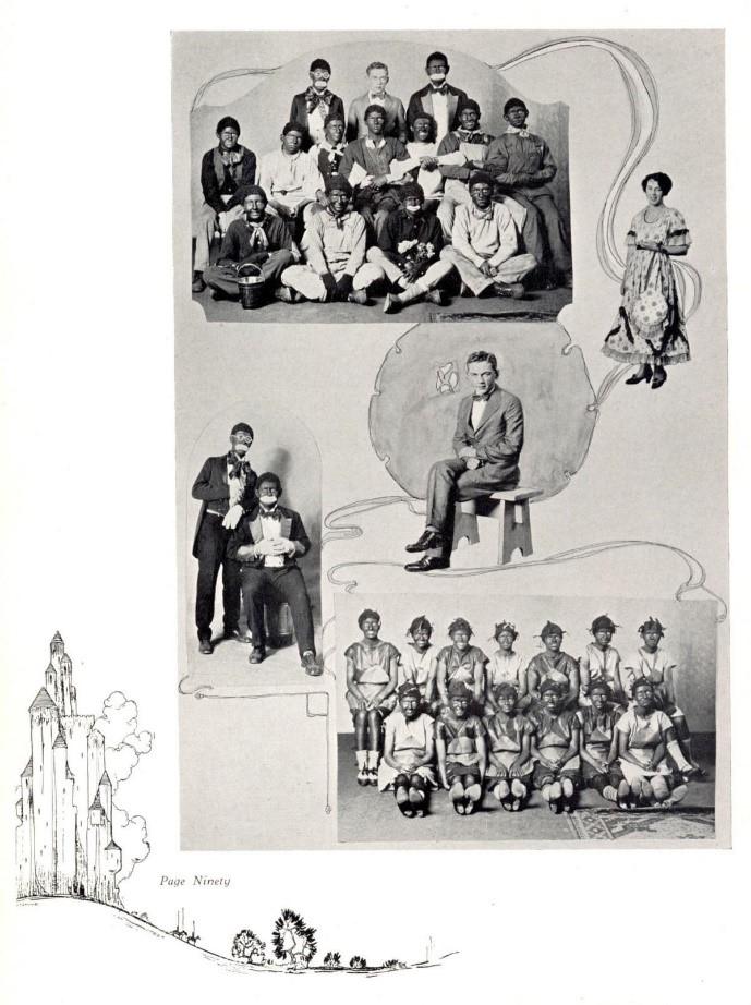 Minstrel Shows in Bloomington Schools