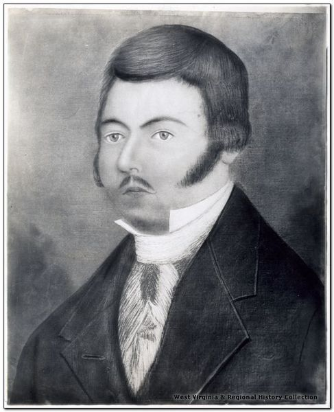 Portrait believed by some historians to be Zackquill Morgan.