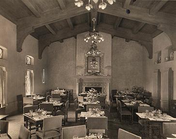 Dining room, c. 1930s