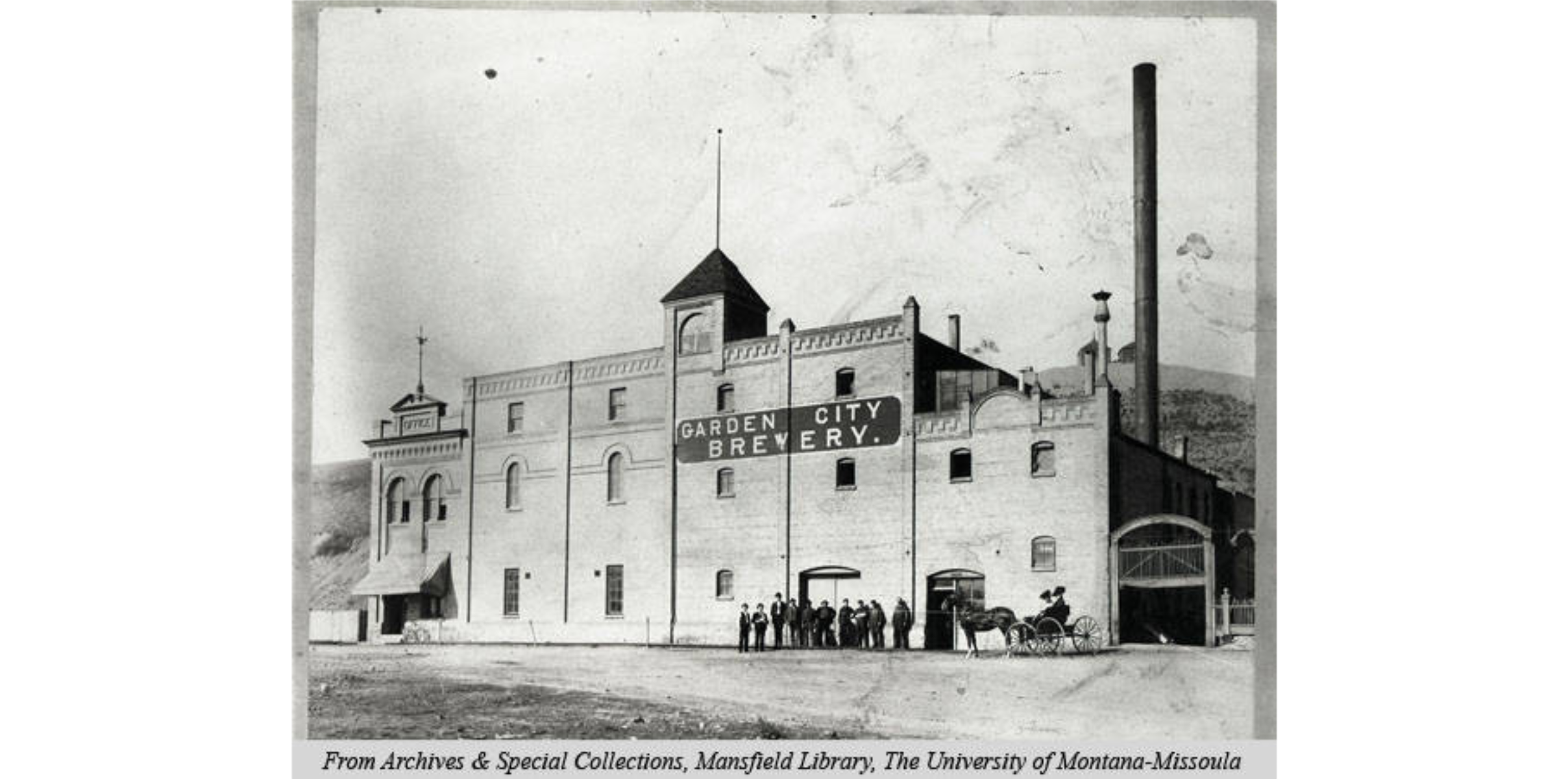 Garden City Brewery circa 1902