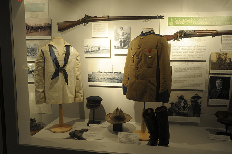 Uniforms and Artifacts in the Museum