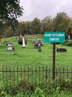 The cemetery Benjamin Brown was buried at.