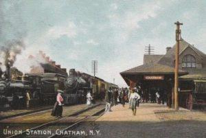 Rutland train in Chatham, New York