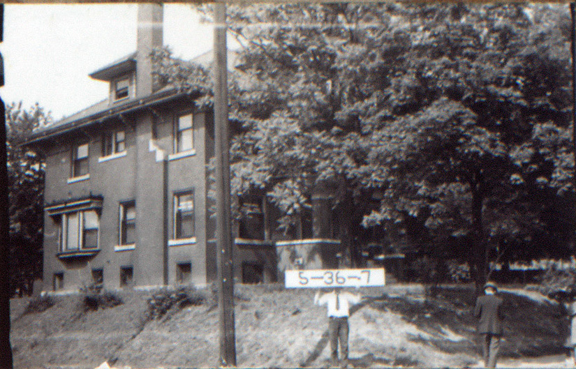 The Rector Mansion, circa 1940, purchased for about $20,000 in 1921