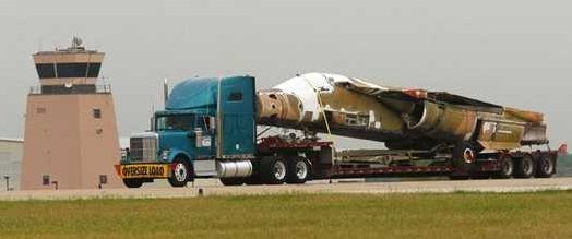 """Balls 9"" Arrives at Meacham Airport, 16 May 2008"