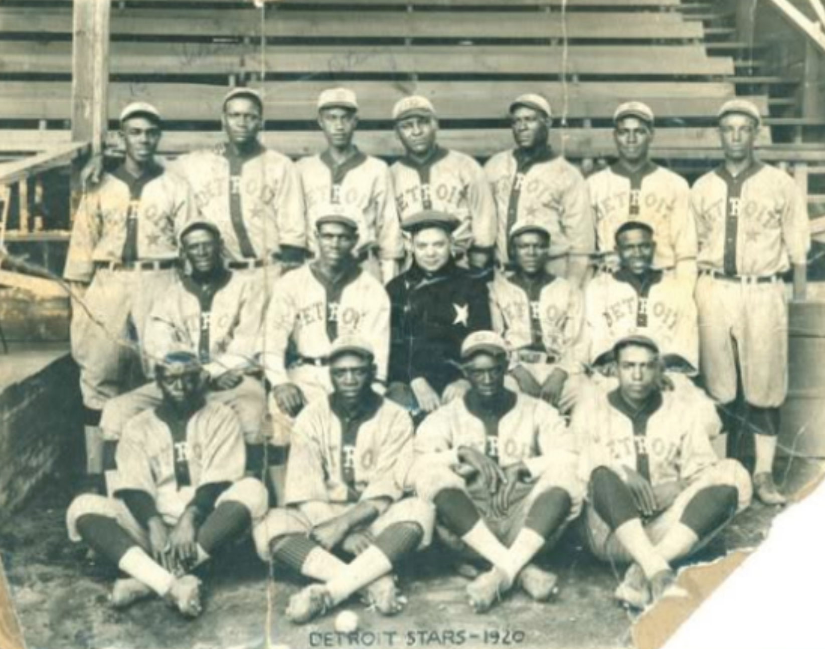 1920 Detroit Stars Team Picture