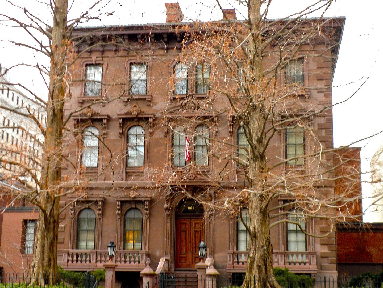 Wilmington Club, also known as the John Merrick House
