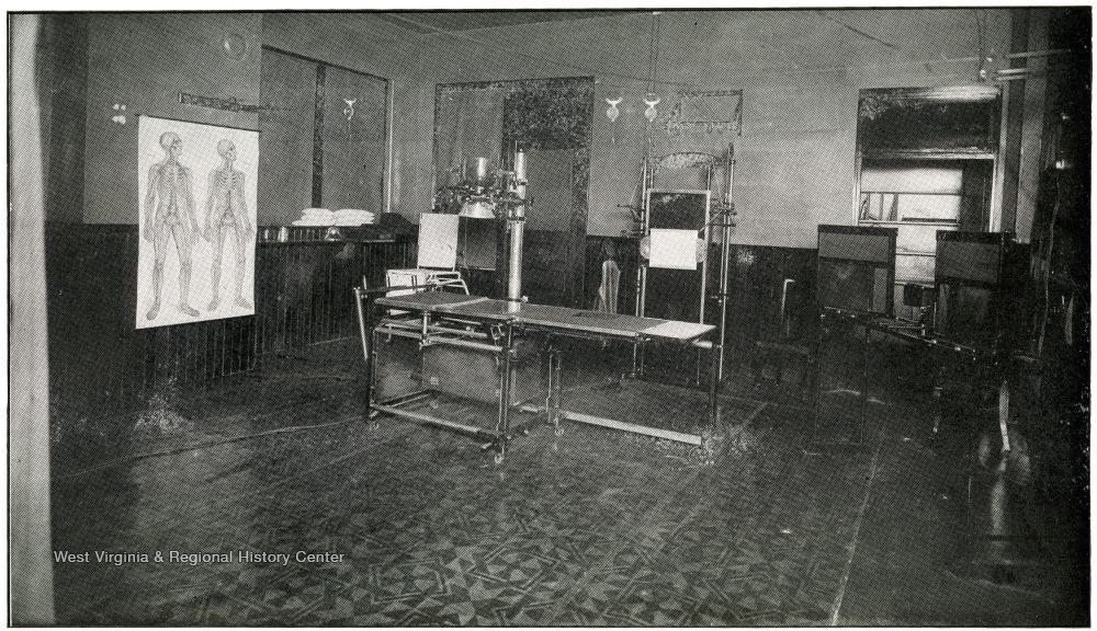 X-Ray Laboratory, 1920