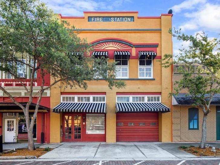 HISTORIC SANFORD FIRE STATION TURNED AIRBNB!