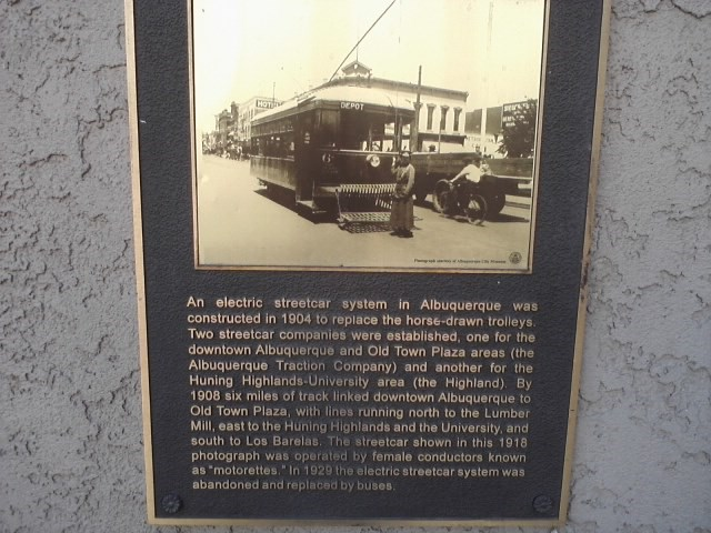 this plaque is located just past the central fountain at the entrance of the Alvarado Transportation Center.