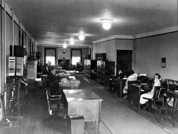 Offices at the St. Francis Barracks - St. Augustine, Florida. 1924