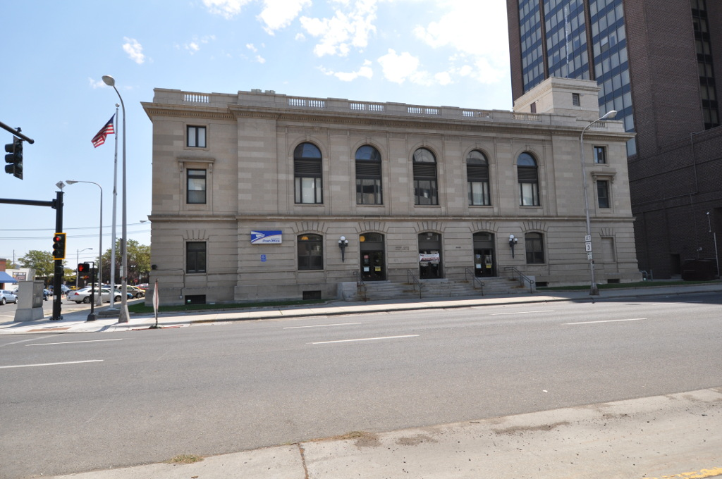 The United States Post Office and Courthouse was erected in 1914 and is listed on the National Register of Historic Places.