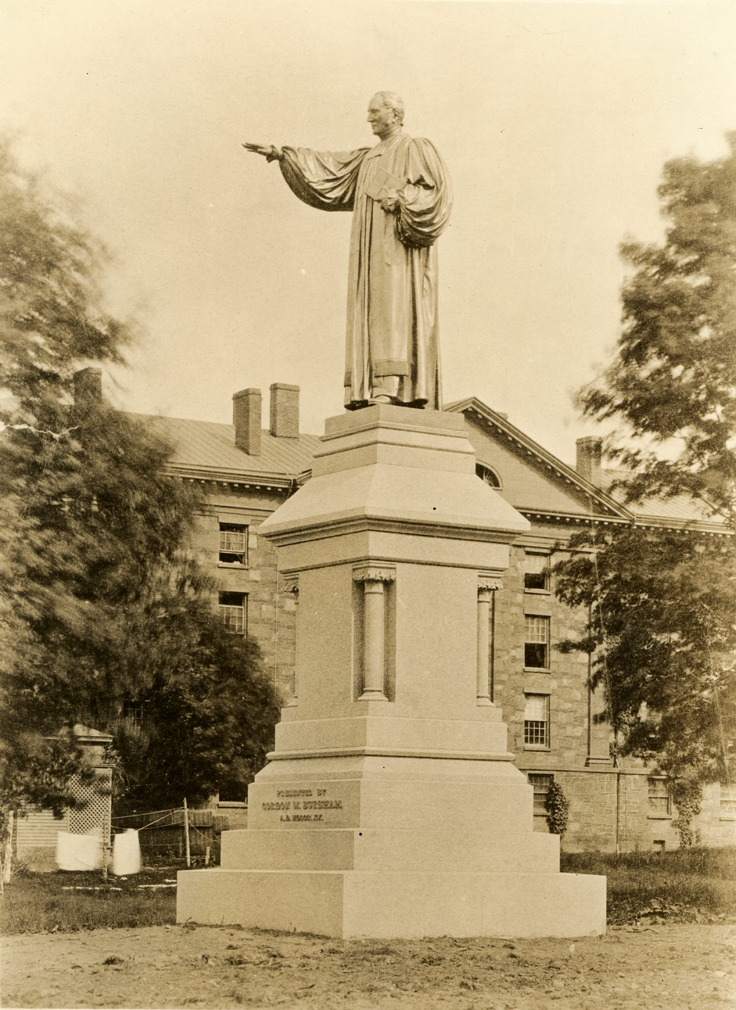 Brownell Statue at Washington Campus