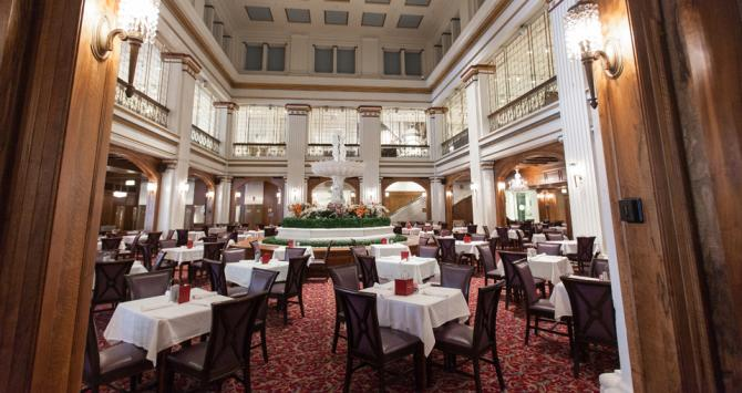 The Walnut Room, opened in 1907, was both the first restaurant in a store and the oldest restaurant in the US