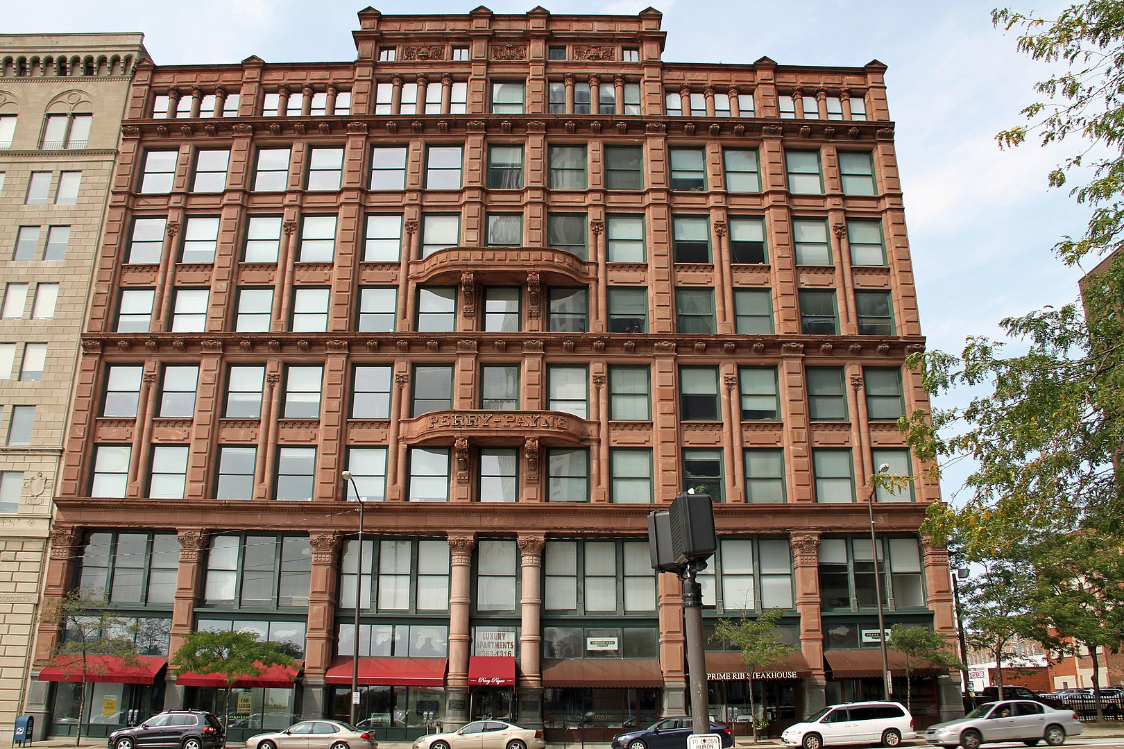 Historic Perry-Payne Building in Cleveland (now: Perry Payne Apartments)