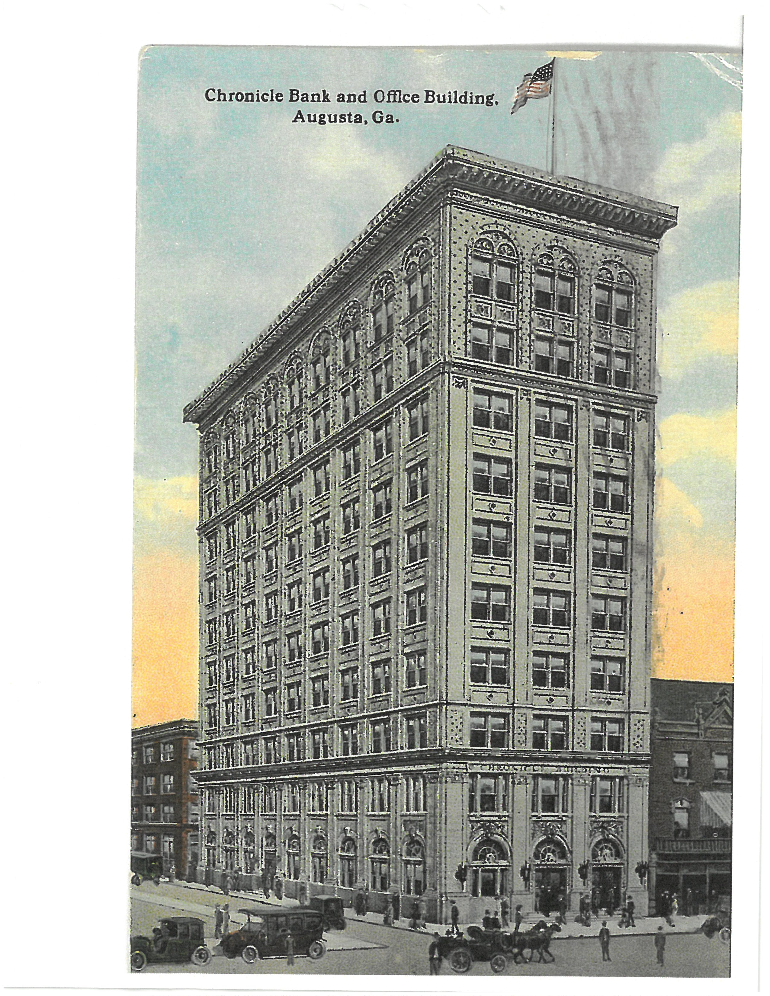 Artist's Rendering of Chronicle Building