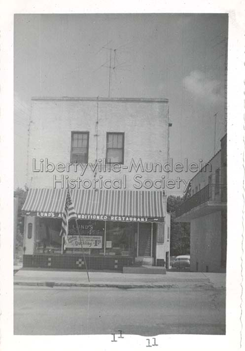 Lund's Restaurant, 1957